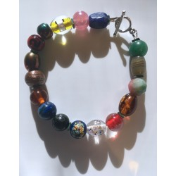 Natal Star Prayer Bracelet