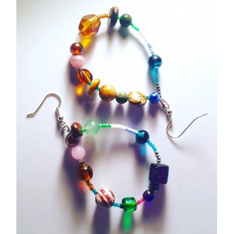 Natal Star Earrings
